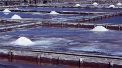 In den Salinen wird das Salz nach wie vor so gewonnen, wie in der Antike.