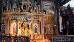 Ikonostase in einer bulgarischen Kirche in Istanbul