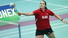 Petja Nedeltschewa hat beim stark besetzten internationalen Badminton-Turnier in Rom die Silbermedaille gewonnen.