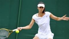 Die derzeit landesweit beste bulgarische Tennisspielerin Zwetana Pironkowa ist zum ersten mal in ihrem Leben im Grand-Slam-Turnier in Wimbledon so weit nach vorn gekommen.