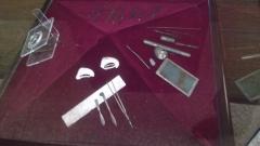 Κάποια από τα εργαλεία που ανακαλύφθηκαν στη διάρκεια των ανασκαφών στο χωριό Καράνοβο