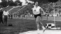 Ivanka Hristova triumphed in the shot put at the Montreal Olympic games, 1976
