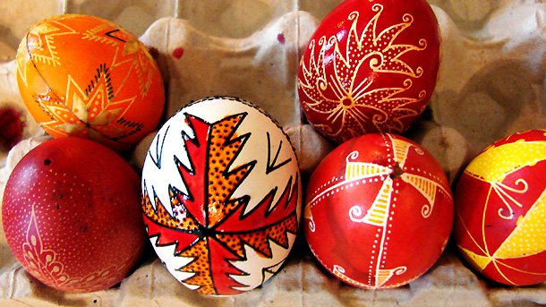 Resultado de imagen para huevos de pascua antiguos