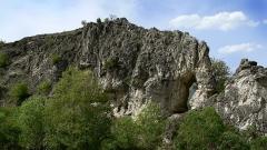 La sculpture naturelle appele pour sa forme L'éléphant se situe à 4 km seulement de Dévin.