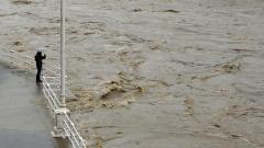 река наводнение