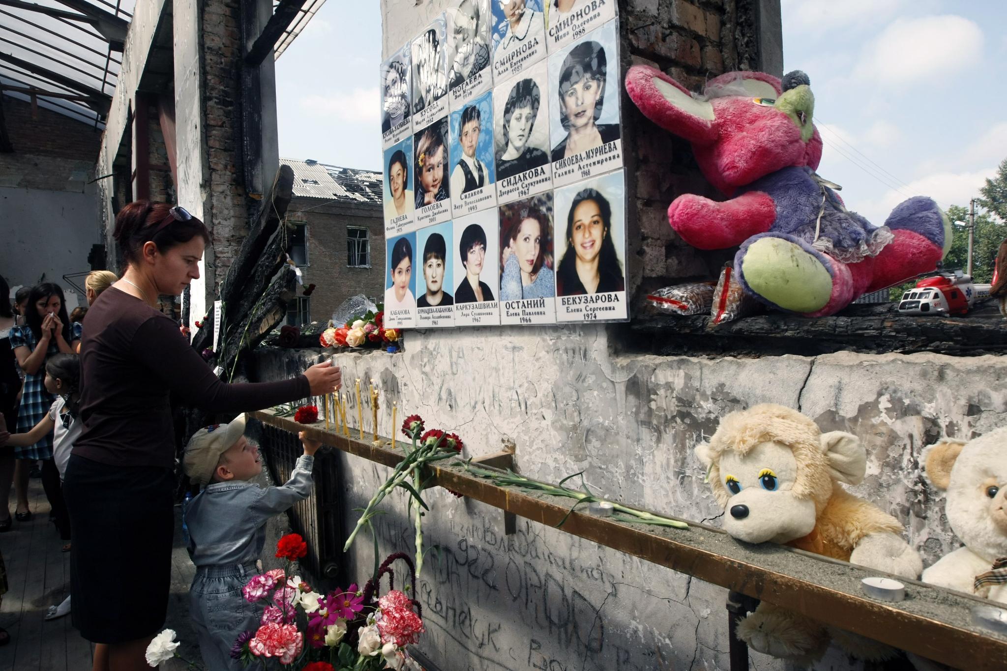 Резултат с изображение за Терористичен акт в Беслан: