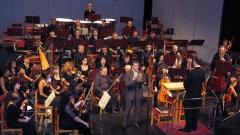 Пазарджишкият симфоничен оркестър с диригент Григор Паликаров