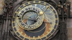 Чехия Прага часовник