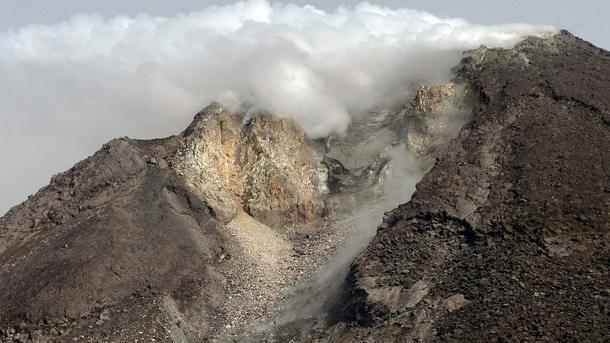Индонезия вулкан Мерапи изригване