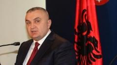 Президентът на Албания Илир Мета