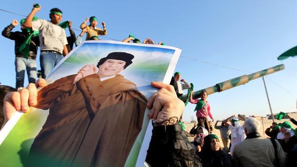 Мисурата поддръжници на Муамар Кадафи Либия