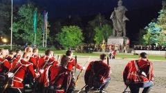 Митингът-заря за 135-та годишнина от подвига на Христо Ботев и неговата чета.