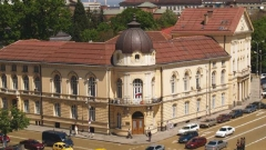 Bulgarian Academy of Sciences - main building in central Sofia