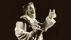 Джузепе Тадеи в ролятана Фалстаф в едноименната опера на Верди, 1985 г.