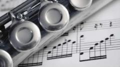 флейта и ноти