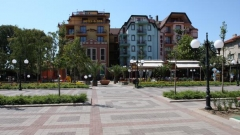Town of Pomorie on the Black Sea