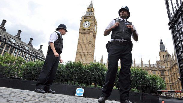 Лондон Великобритания полиция