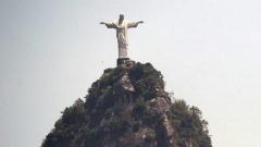 Статуята Христос Спасител в Рио де Жанейро.