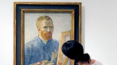 Автопортрет на Винсент ван Гог