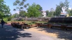 Пазарджик - най-дългата пейка