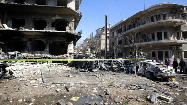Сирия Дамаск експлозия