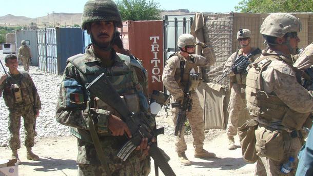 Резултат с изображение за сили за сигурност в Афганистан.