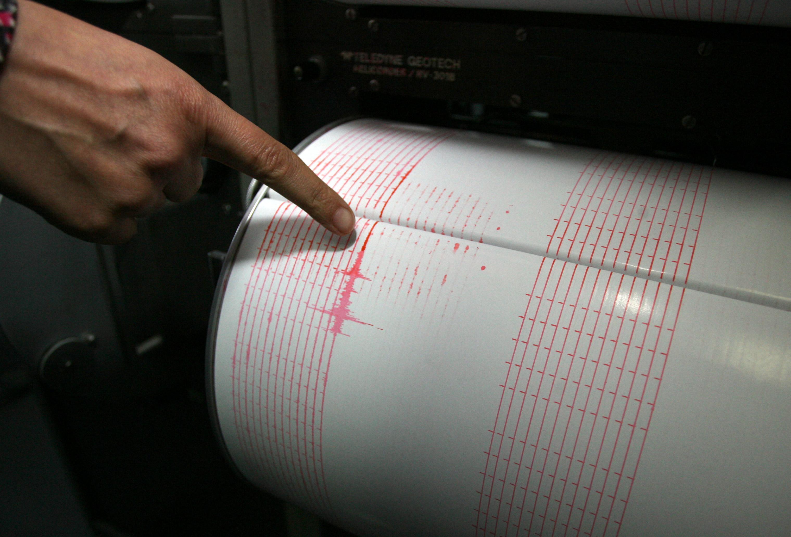 Земетресение от 4,8 по Рихтер разтърси Гърция