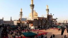 гробница на имам Муса ал-Кадим в квартал Кадимия на Багдад, почитана от шиитите