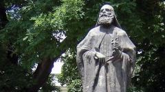 Denkmal des hl. Euthymios im Zentrum Sofias