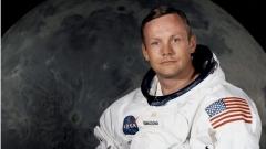 Нийл Армстронг - първият човек стъпил на Луната