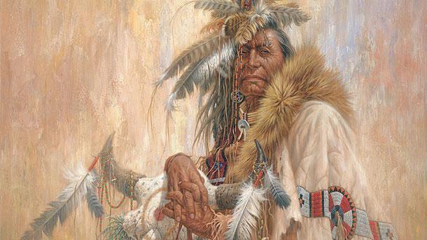 Черноокият шаман - Лари Фенинг