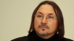 """Христо Христов - един от авторите на """"История на корупцията в България""""."""
