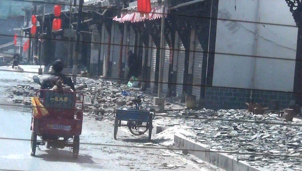 Китай Съчуан земетресение