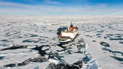 Арктика лед топене