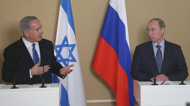 Путин Нетаняху