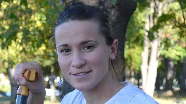 Станилия Стаменова после победы,