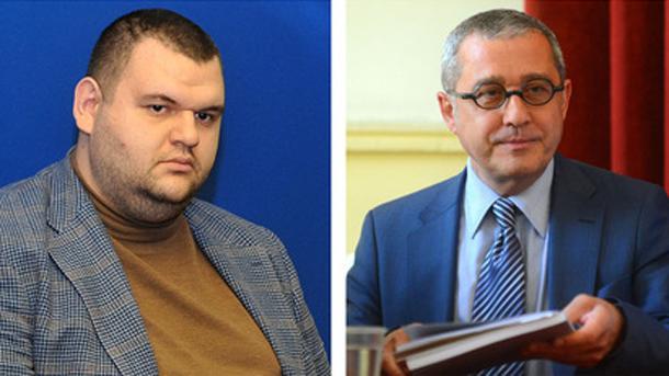 Делян Пеевски и Йордан Цонев