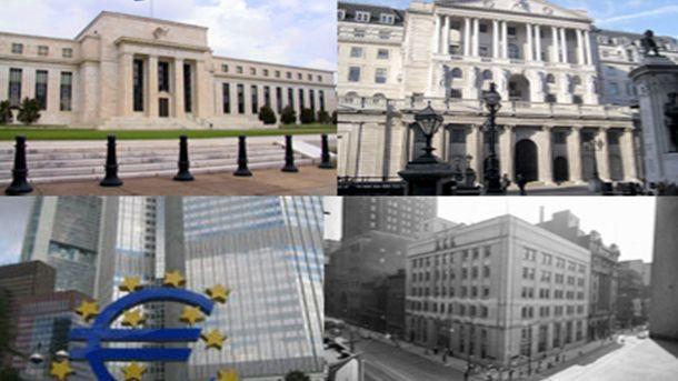 Резултат с изображение за централни банки