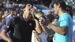 Джокович и Надал ще играят в новия формат на Купа