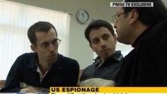 Шейн Бауър и Джош Фатал по време на процеса в Иран