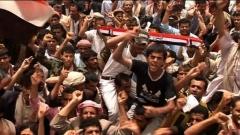 Протест в Сана