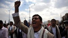 Демонстрант в Сана настоява за оттеглянето на президента Али Абдула Салех