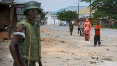 Войник от Бурунди, служещ в мироопазващата мисияна Африканския съюз в Могадишу