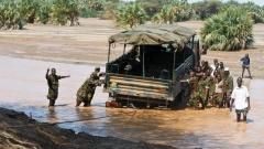 Войници от кенийската армия.