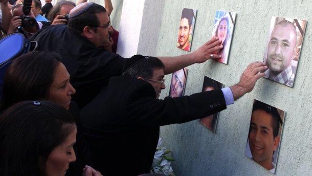 Възпоменателна церемония в памет на жертвите на атентата на летище