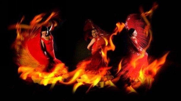 Огнено испанско фламенко