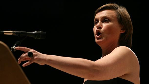 Веселина Кацарова на концерта в НДК