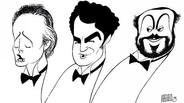 Карерас, Доминго и Павароти предизвикаха лавина от последователи на Тримата тенори по света