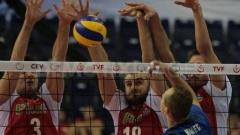 Волейболистите на Полша се класираха за полуфиналите на европейското първенство в Чехия и Австрия след успех с 3:0 срещу Словакия