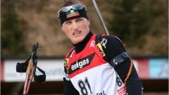 Михаил Клечеров зае 25-то място в преследването на 12 километра и половина - старт от Световната купа по биатлон в Хохфилцен, Австрия